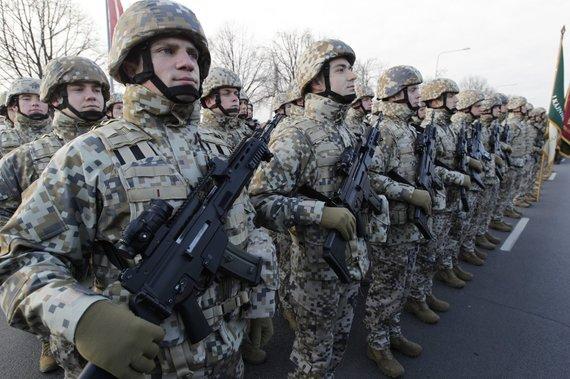 """""""Reuters""""/""""Scanpix"""" nuotr./JAV kariai Latvijoje"""