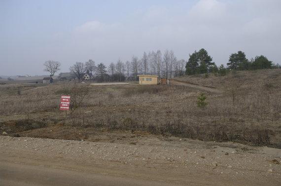 V.Danauskienės nuotr./Šiame sklype Alovės kaime priregistruota per tris dešimtis naujų rinkėjų.