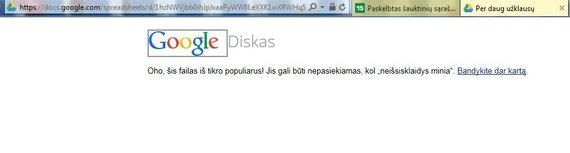 Laikinai neprieinamas Lietuvos kariuomenės šauktinių sąrašas