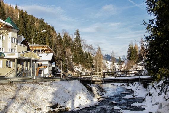 Mindaugo Kryžanausko nuotr./Slidinėjimas Išgle, Austrijoje