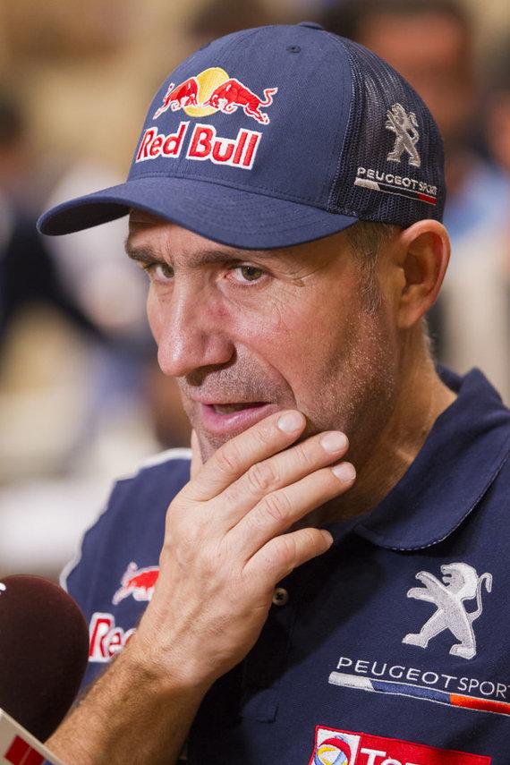 Gedmanto Kropio nuotr./Dakaro techninė apžiūra. Stephaneas Peterhanselis