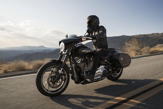 "Harley Davidson nuotr./ ""Harley-Davidson Sport Glide"""