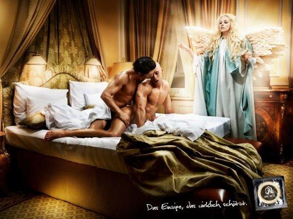 ULAC iliustr./Kūrybiškiausios reklamos, kviečiančios saugotis AIDS/ŽIV