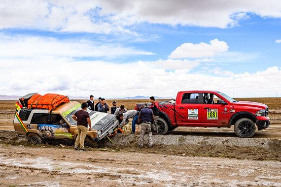 Vytauto Dranginio nuotr./Vytauto Dranginio Dakaras 2017