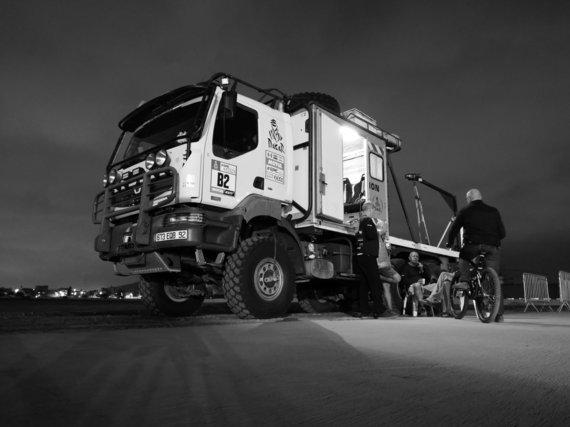 """Žilvino Pekarsko / 15min nuotr./Dakaras neišsiverstų be """"Šluotos"""" pagalbos"""
