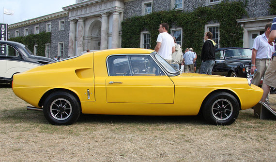 "Wikimedia Commons nuotr./Istorinis automobilis ""Unipower GT"""