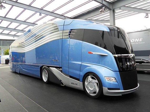 Taip, pagal MAN, atrodytų ateities sunkvežimis. (Wikimedia)