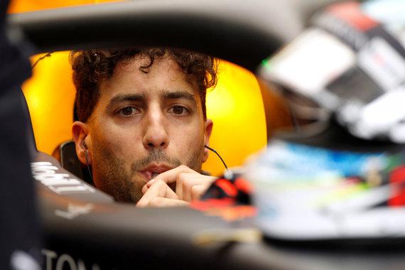 """Reuters""/""Scanpix"" nuotr./Danielis Ricciardo Australijos GP"
