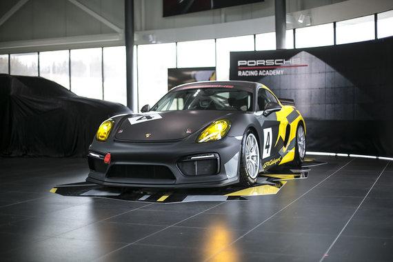 """Porsche nuotr./""""Porsche Cayman GT4 Clubsport"""""""