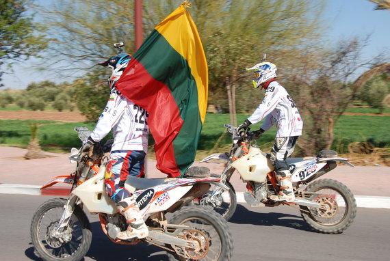 Aldonos Juozaitytės nuotr./Motociklininkai Lietuvoje