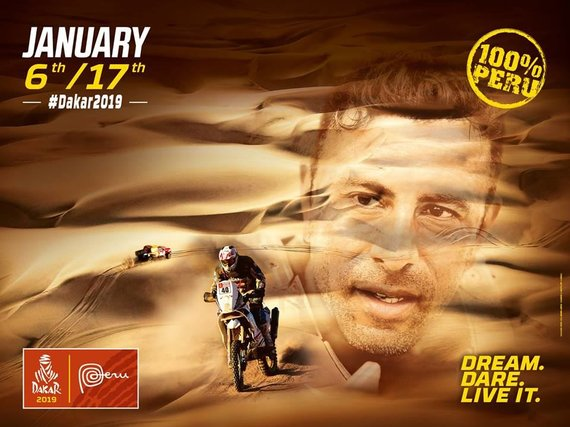 Dakaras 2019 vyks Peru