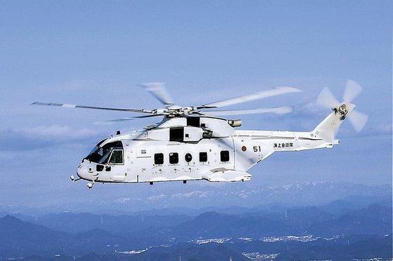 """Kawasaki nuotr./Sraigtasparnis """"Kawasaki MCH-101"""""""