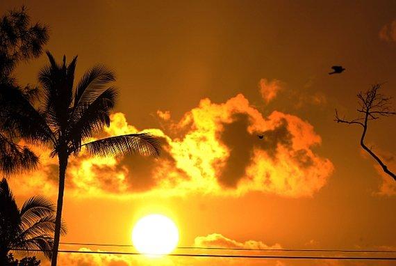 "AFP/""Scanpix"" nuotr./saulėtekis"