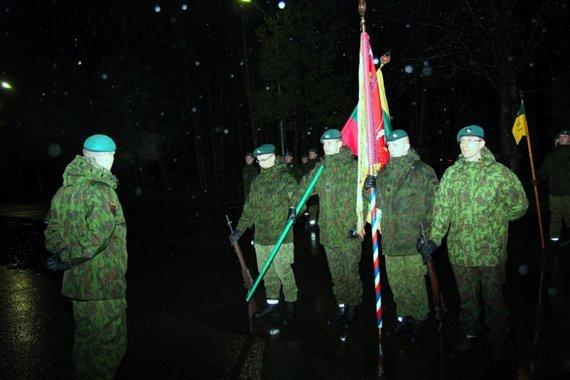 Vyr. ltn. Jauniaus Matuko nuotr./Vaidoto batalionui 22-eji