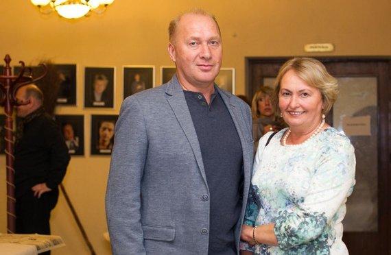 Irmanto Gelūno / 15min nuotr./Jurijus Smoriginas su žmona Dalia