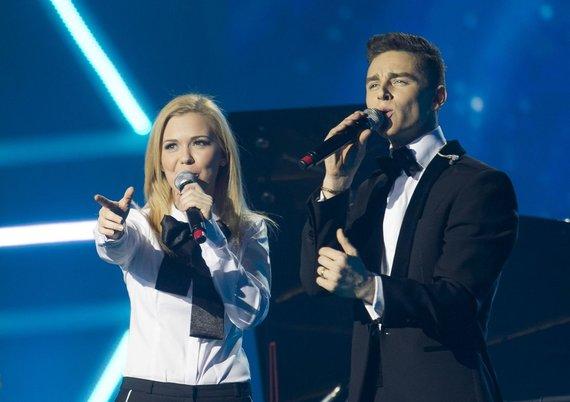 Monika Linkytė ir Donatas Montvydas