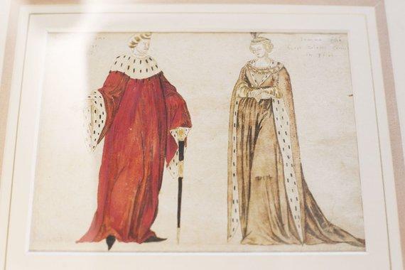 Irmanto Gelūno / 15min nuotr./Vytauto Didžiojo ir jo žmonos atvaizdas