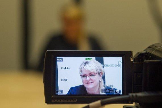 Irmanto Gelūno/15min.lt nuotr./15min.lt vaizdo konferencijoje – ministrė Algimanta Pabedinskienė