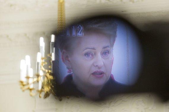 Irmanto Gelūno / 15min nuotr./Prezidentė Dalia Grybauskaitė