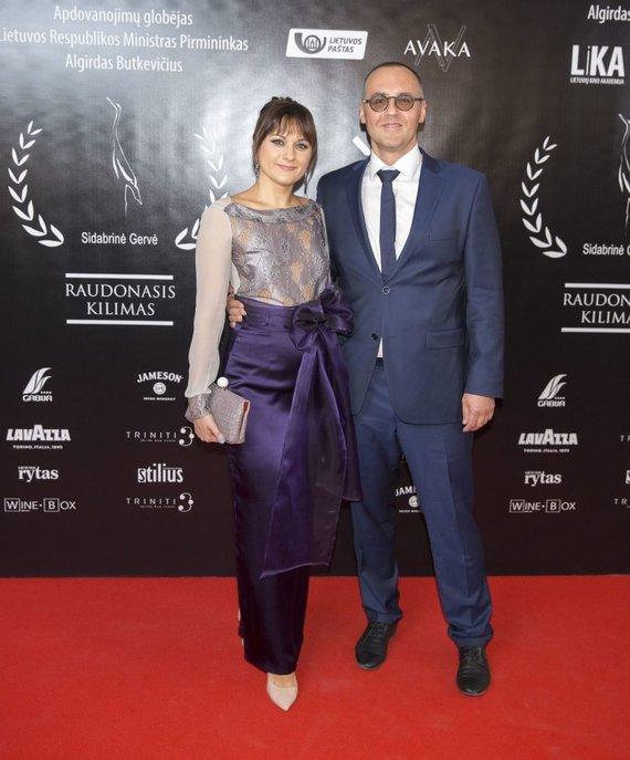 Irmanto Gelūno / 15min nuotr./Inga Jablonskė su vyru