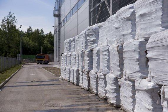 Irmanto Gelūno / 15min nuotr./Vilniaus atliekų rūšiavimo gamykla