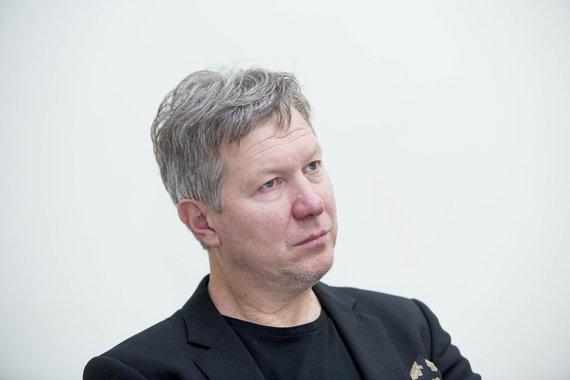 Irmanto Gelūno / 15min nuotr./Istorikas Algimantas Kasparavičius