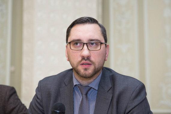 Irmanto Gelūno / 15min nuotr./Nežinioje palikti pertvarkomos Kultūros ministerijos darbuotojai susitiko su vadovybe