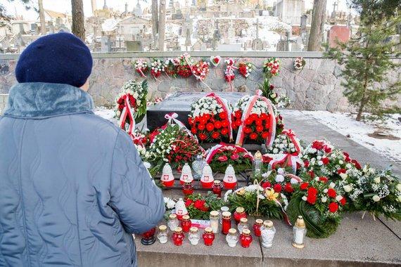 Irmanto Gelūno / 15min nuotr./Minint 150–ąsias Lenkijos maršalo Juzefo Pilsudskio gimimo metines paminėti jo saitai su Lietuva