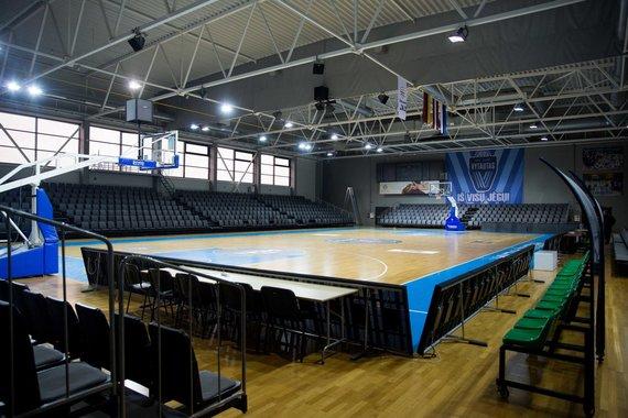 Irmanto Gelūno / 15min nuotr./Prienų arena