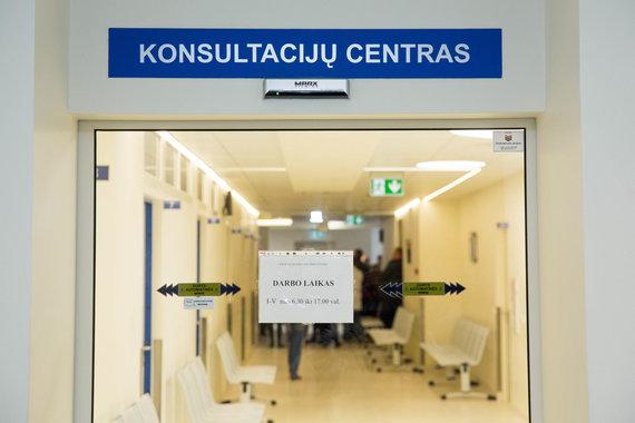 Irmanto Gelūno / 15min nuotr./Vilniaus universitetinės ligoninės Konsultacijų centro atidarymas