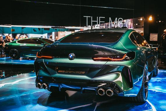 Irmanto Gelūno / 15min nuotr./BMW Ženevoje pademonstravo, kaip atrodo prabanga
