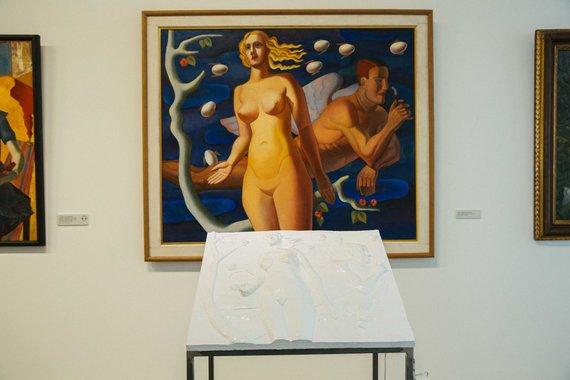 """Irmanto Gelūno / 15min nuotr./Nacionalinėje dailės galerijoje paroda """"Blind date"""""""