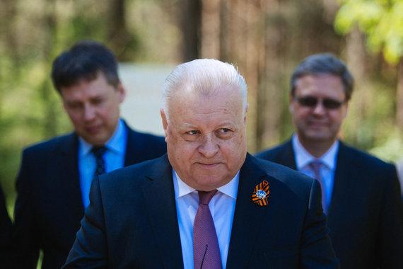Irmanto Gelūno / 15min nuotr./Rusijos ambasadorius Lietuvoje Aleksandras Udalcovas