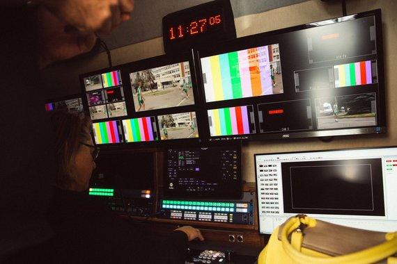 Irmanto Gelūno / 15min nuotr./LRT pristatė naujas kilnojamos televizijos stotis
