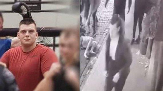 """Kadras iš filmuotos medžiagos ir nuotrauka iš """"Facebook""""/Sportininkas kaltinamas smurtu prieš merginą"""