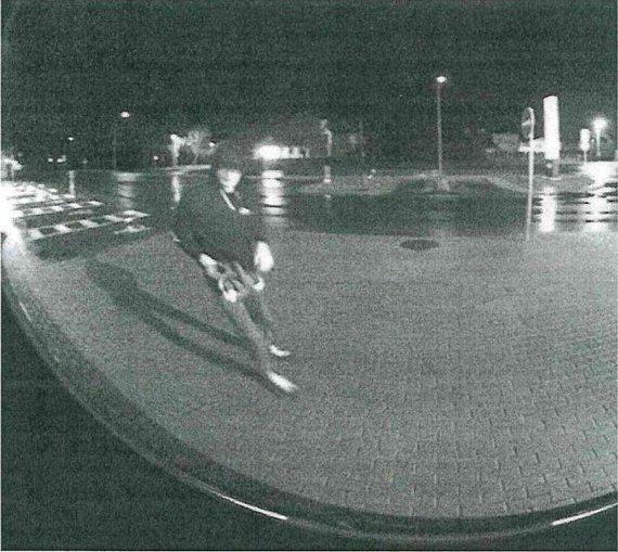 Alytaus policijos nuotr./Ieškomas įtariamasis