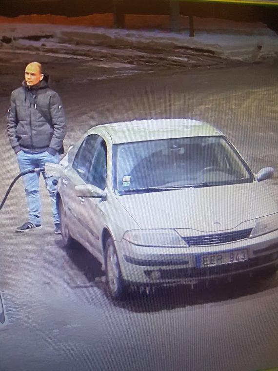 Alytaus apskrities policijos nuotr./Užfiksuotas įtariamasis