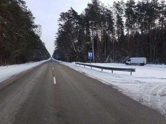 15min nuotr./Aikštelė, prie kurios įvyko 2014 m. lapkričio 1 d. avarija