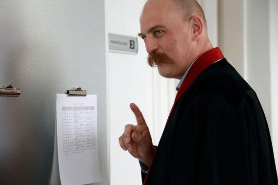 Rūtos Strakšaitės nuotr./Bylą kuruojantis prokuroras Zdzislavas Tuliševskis