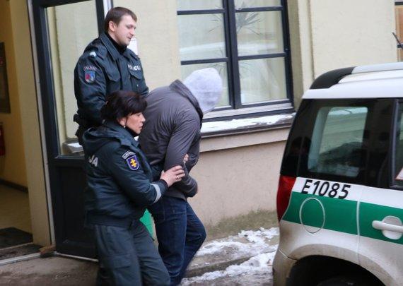 Telšių apskrities policijos nuotr./Sulaikytas įtariamasis