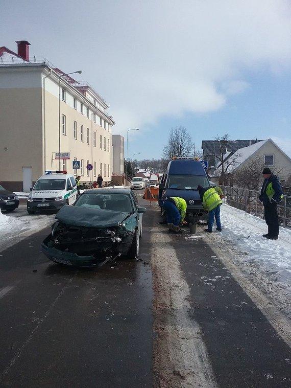 Telšių apskrities policijos nuotr./Įvykio vietoje