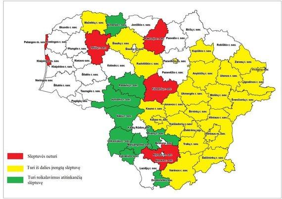 PAGD iliustracija/Tik 9 šalies savivaldybės turi įrengtas, reikalavimus atitinkančias slėptuves.