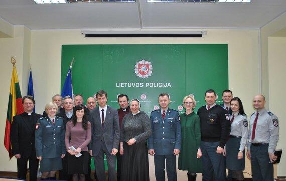 Alytaus apskrities policijos nuotr./Prevencinio susitikimo dalyviai