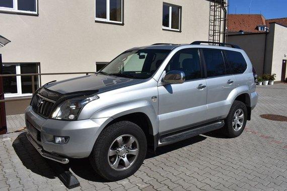 "VSAT nuotr./Belgijoje vogtas ""Toyota Land Cruiser"""