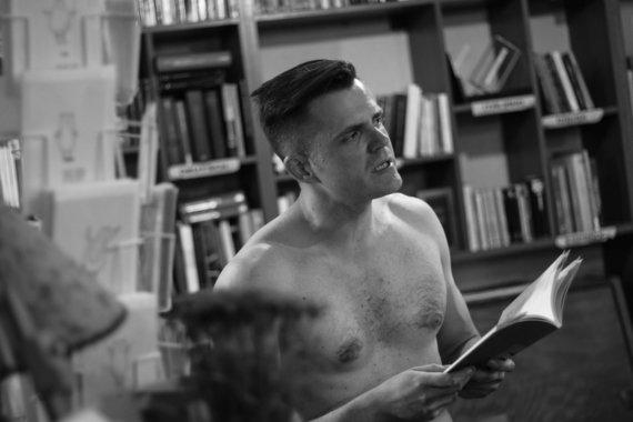 """Motiejaus Paulėko nuotr./Knygos pristatymas """"Mint Vinetu"""""""