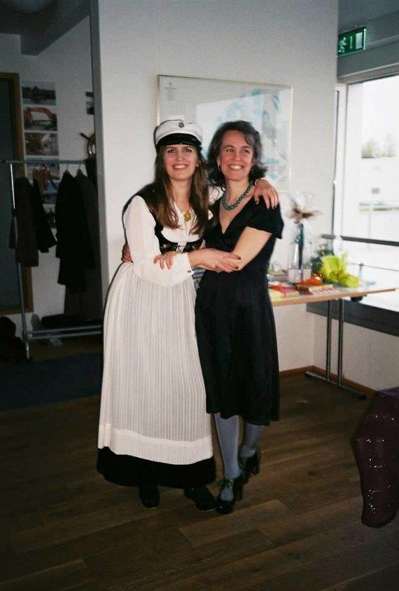 Nuotr. iš šeimos archyvo/ Þorgerður Jörundsdóttir su dukra