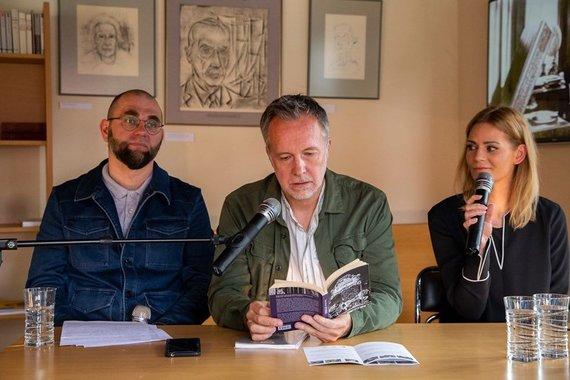 Gintauto Beržinsko nuotr./Susitkimas su Tomaszu Różyckiu