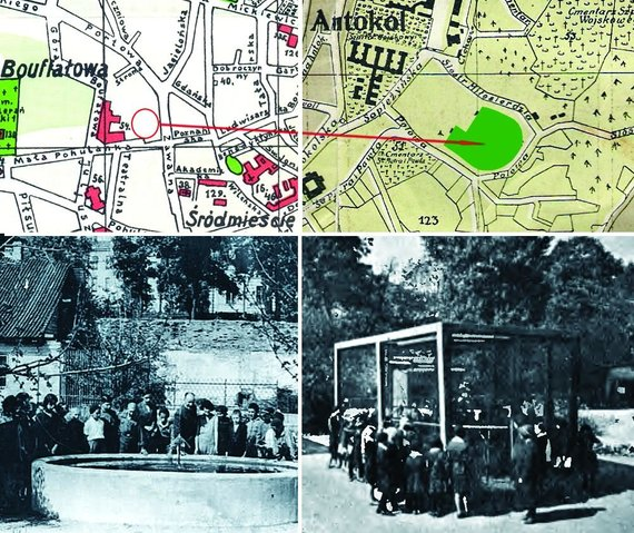 Zoologijos sodo udru baseinas ir fazanu narvas 1931 m