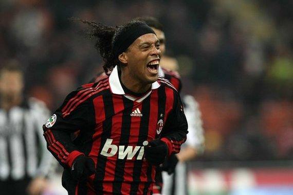 """""""Scanpix"""" nuotr./Ronaldinho pastaruoju metu demonstruoja puikią sportinę formą"""
