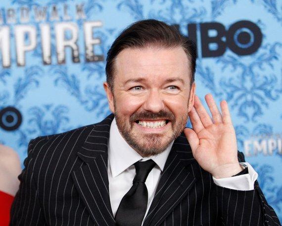 """Reuters""/""Scanpix"" nuotr./Ricky Gervais"